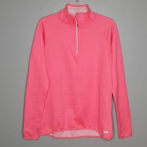 4/$25 SALE! Avia hot neon pink fleece half…